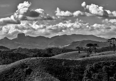 Pedra do Baú - Vista de Santo Antônio do Pinhal