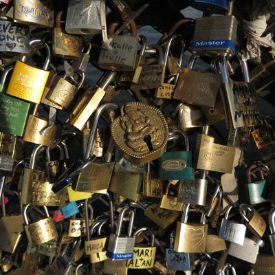 Cadeados da Ponte de Paris