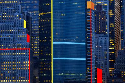Arquitetura moderna New York