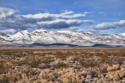 Montanhas Nevadas no Death Valley