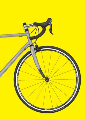 Bicicleta Amarela II