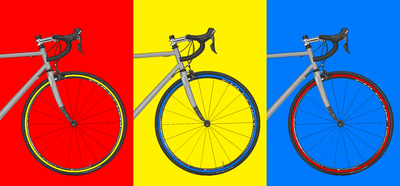 Triptico Bicicletas