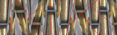Caleidoscópio de arquitetura