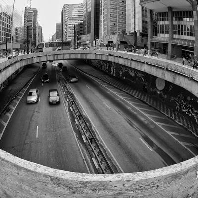 Detalhe da Avenida Paulista