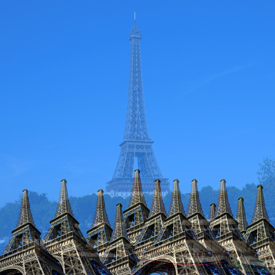 Série Cores - Paris