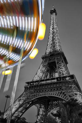Torre Eiffel e o Carroussel