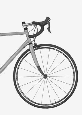 Bike fundo branco
