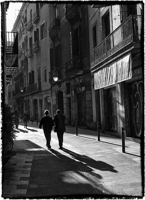 Série P&B - Barcelona