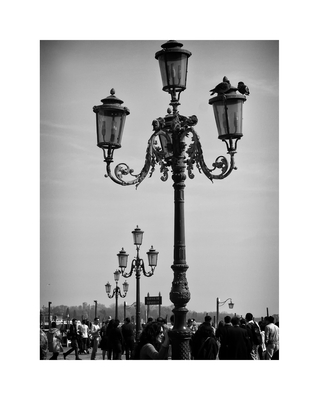 Postes de luz de Veneza