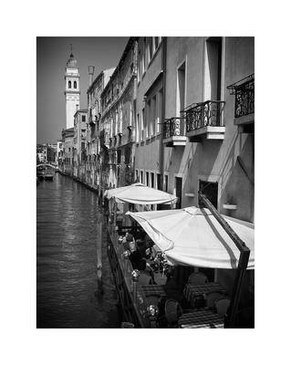 Bares nos canais de veneza