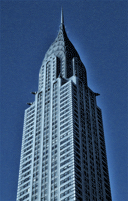 Chrysler Building - New York - Digital Art