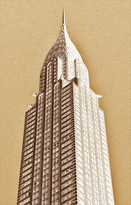 Chrysler Building - New York  - Digital Art II