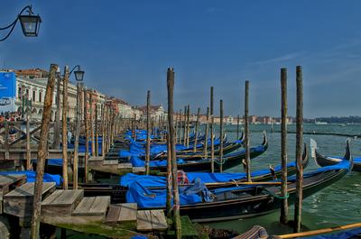 Gondôlas de Veneza