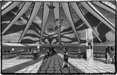 Série P&B - Catedral de Brasília