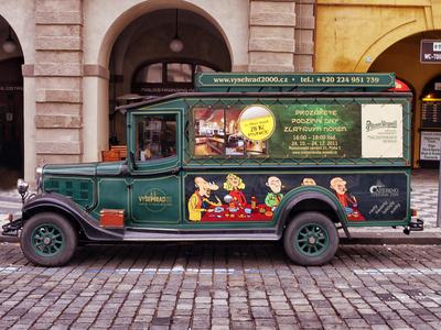 Carro Antigo - Praga