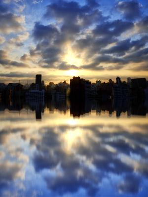 São Paulo refletido