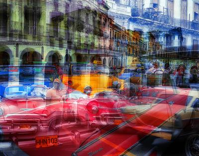 Fotomontagem de Havana