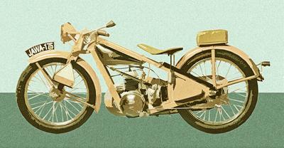 Moto Jawa 175 1932 II