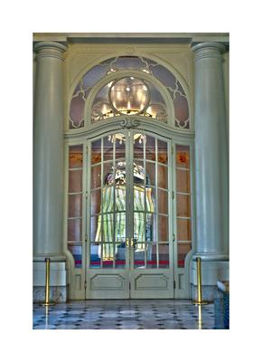 Porta do Teatro Municipal de São Paulo