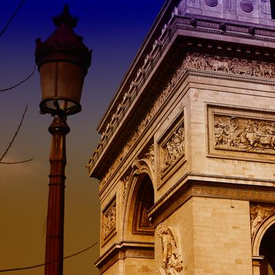 Arco do Triunfo, Paris, França