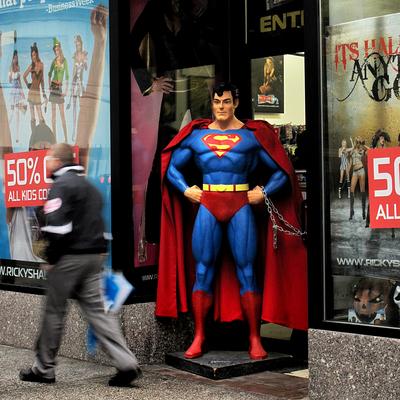 Super-homem em New York