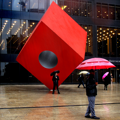 Escultura em Wall Street - Nerw York