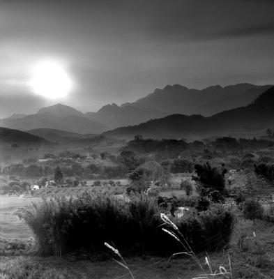 Por do sol em Passa Vinte, Serra da Mantiqueira