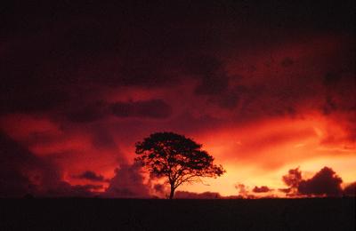 Sol e chuva na Chapada dos Veadeiros