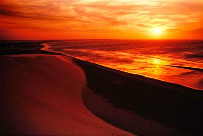 Por do sol na Duna de Jericoacoara