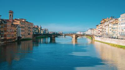 Firenze e o rio Arno
