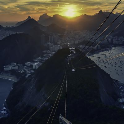 Entardecer Carioca 1 (quadrado)