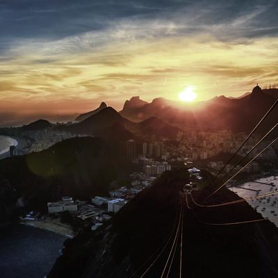 Entardecer Carioca 2 (quadrado)