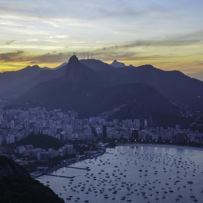 Entardecer Carioca 3 (quadrado)