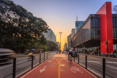 Bike in Sampa