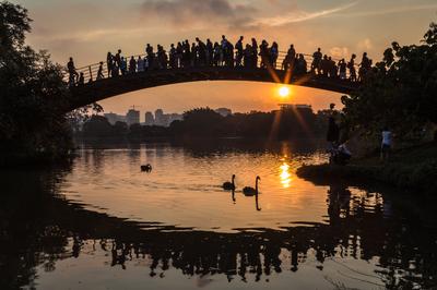 Ibirapuera Sunset 01