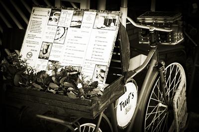 Cardápio Em Bicicleta