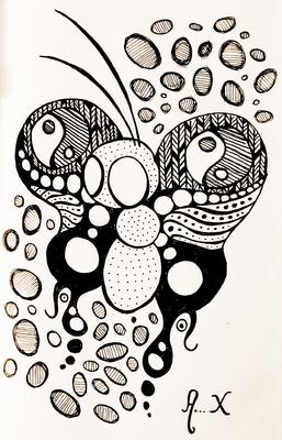 Série Paradoxos Doodles - Paradoxo 12
