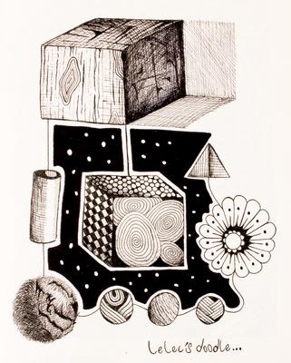 Série Paradoxos Doodles - Paradoxo 24