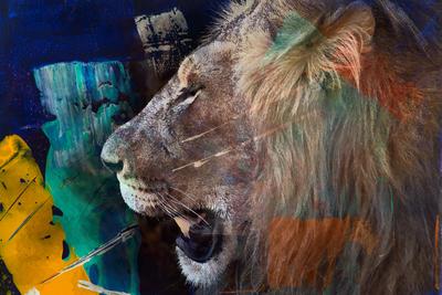 Leão Acrílico