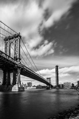 Manhattan Bridge em New York.