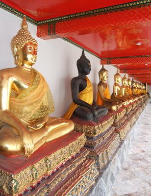 Esculturas budistas