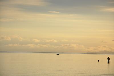 Fim de tarde em Charm Beach