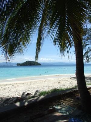 Coqueiro e as ilhas