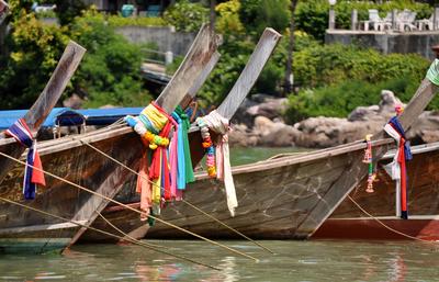 Barcos de Phi Phi