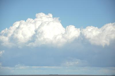 Nuvem na Baía de Guajará