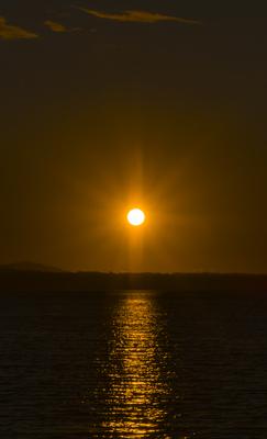Simple Sunset Vertical