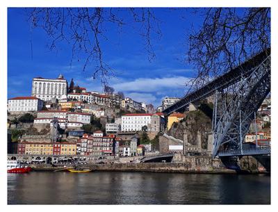 A Ribeira e a Ponte D. Luiz