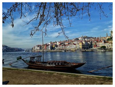 Barco Rabelo - Rio Douro