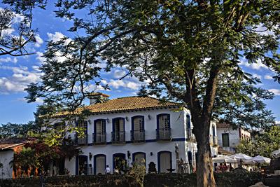 Casario em Tiradentes
