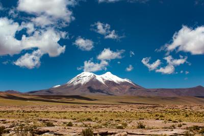 A paz no vulcão